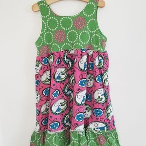 Corky's Kids Dress/Leggings Set